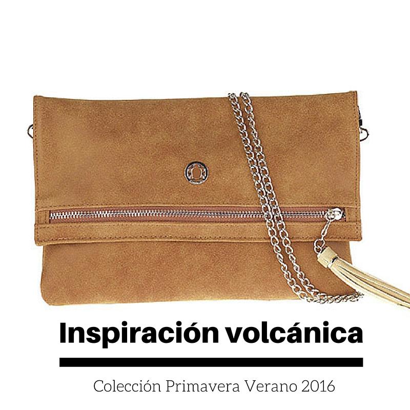 Inspiración volcánica colección bolsos Caminatta 2016
