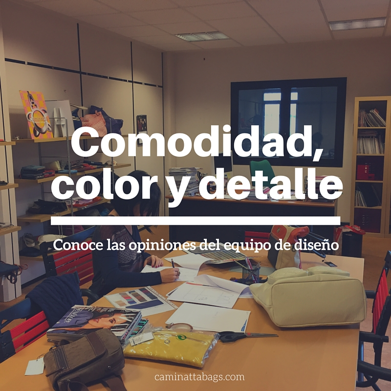 """""""El espíritu Caminatta es sobre todo color y detalle"""""""