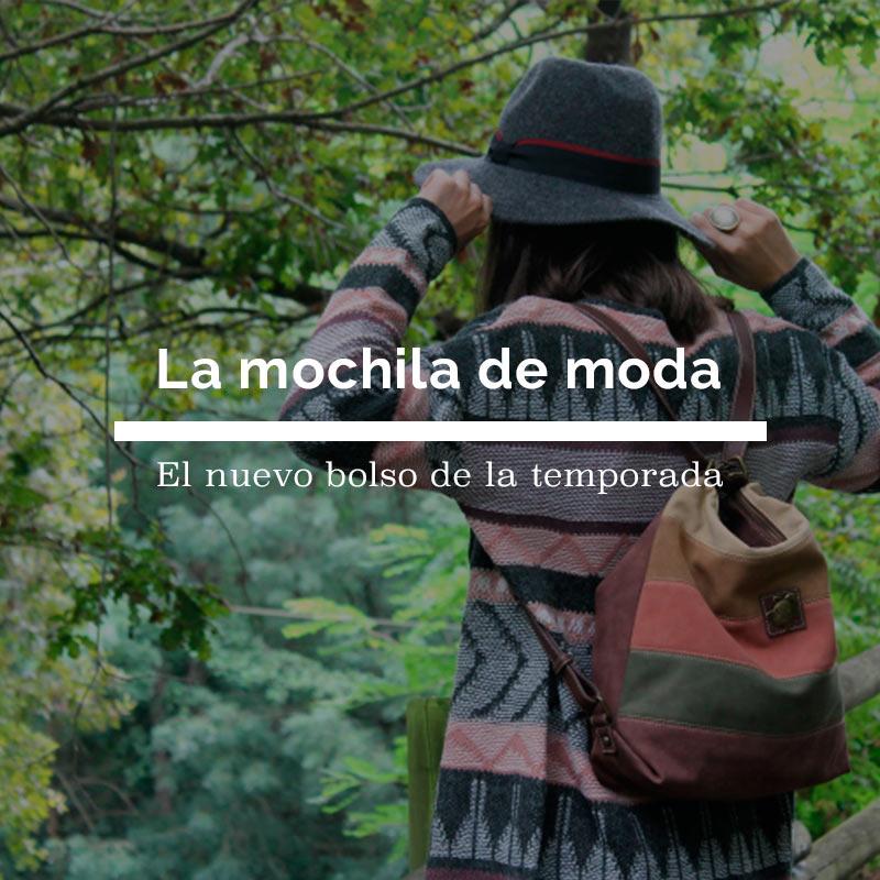La mochila de moda, el nuevo bolso de la temporada otoño invierno 2016-2017