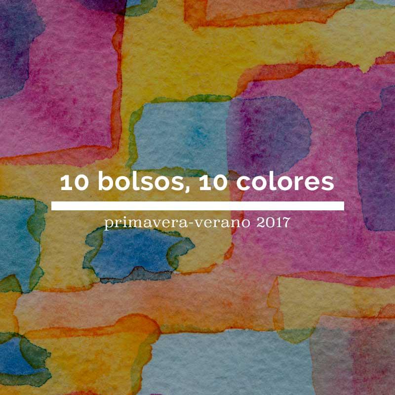 Los colores primavera verano 2017: 10 tonos, 10 bolsos