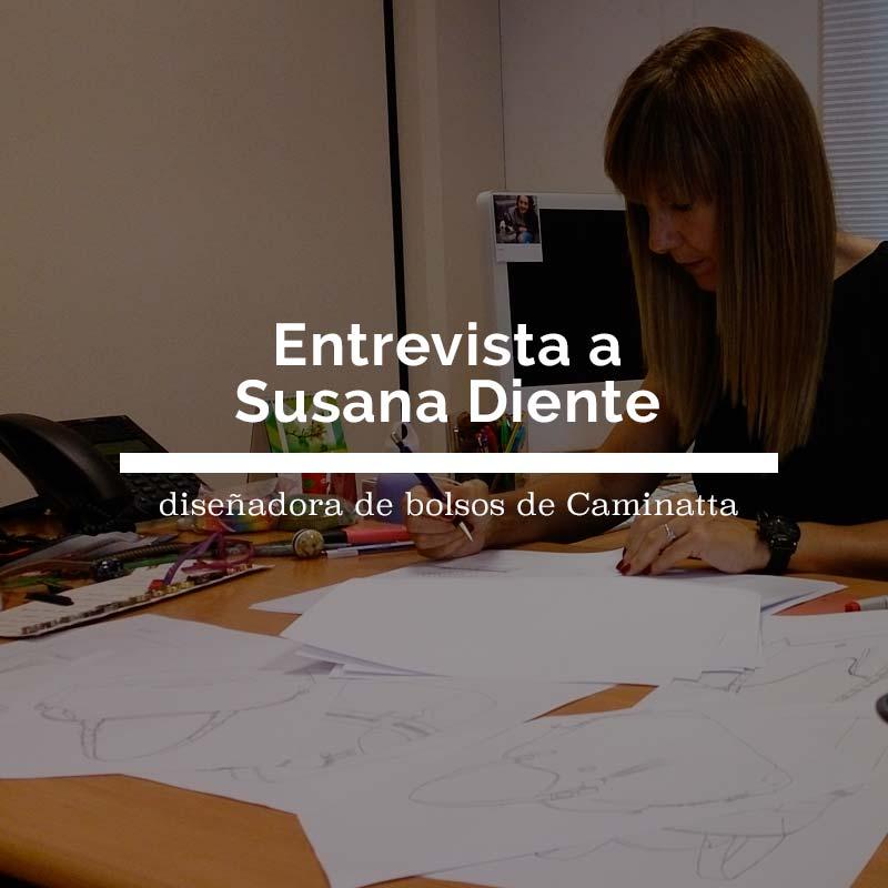Entrevistamos a Susana, diseñadora de bolsos de Caminatta